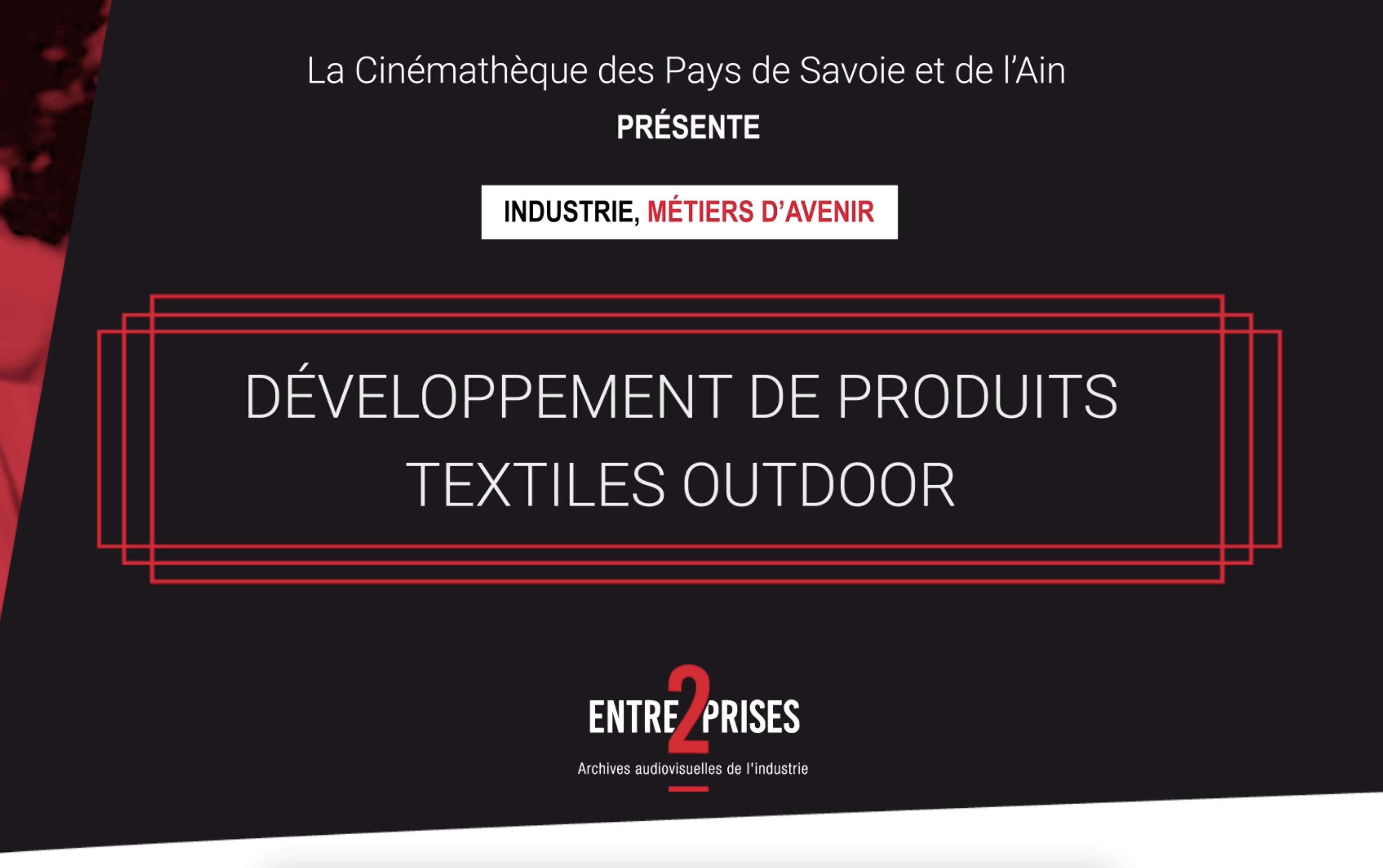 Développement de produits textiles outdoor