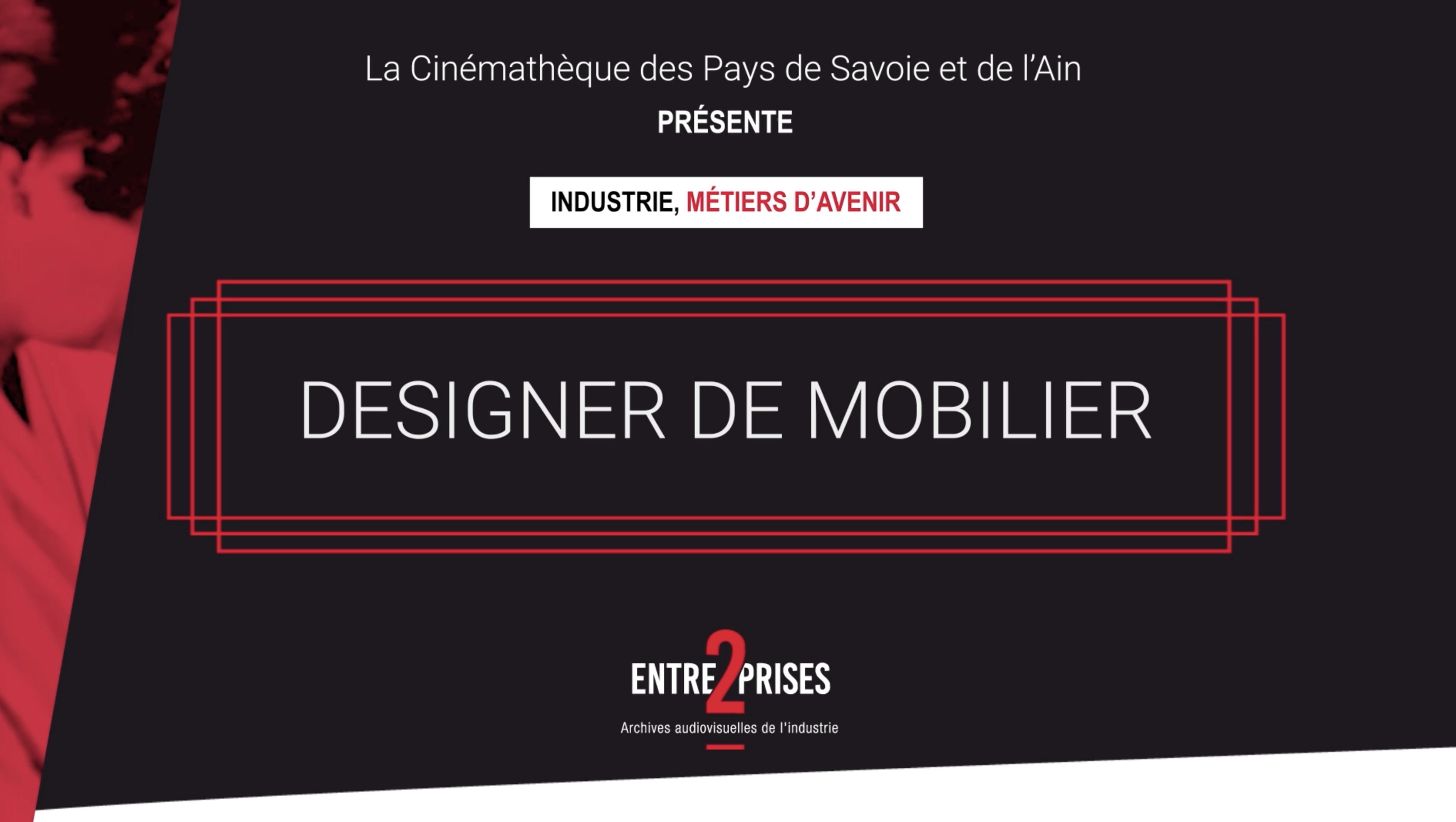 Designer mobilier