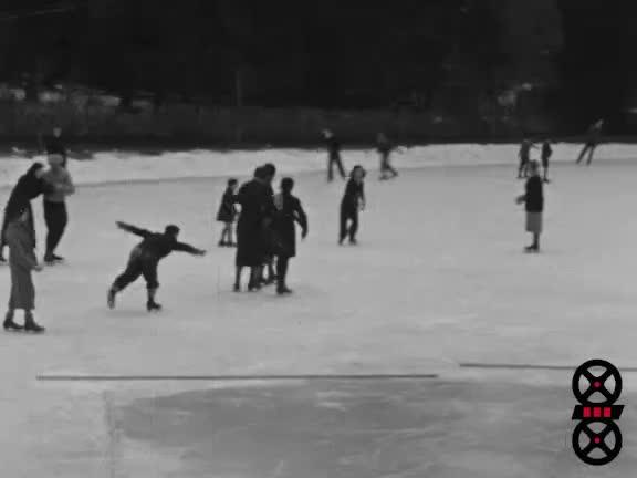 Genève sous la glace