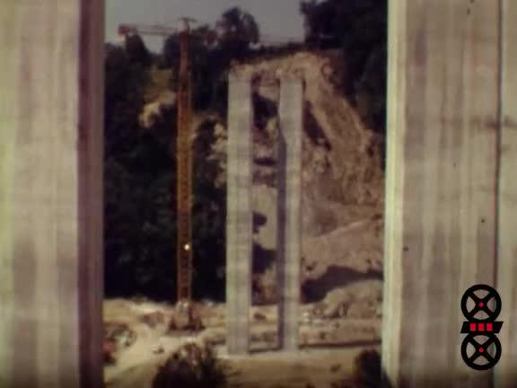 Construction du pont d'Alby sur Chéran