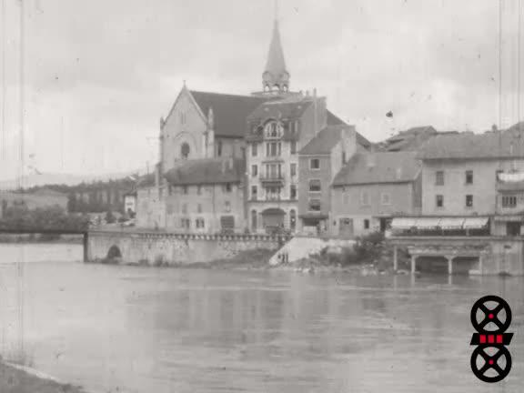 Annecy Aix-les-Bains Aout 1953