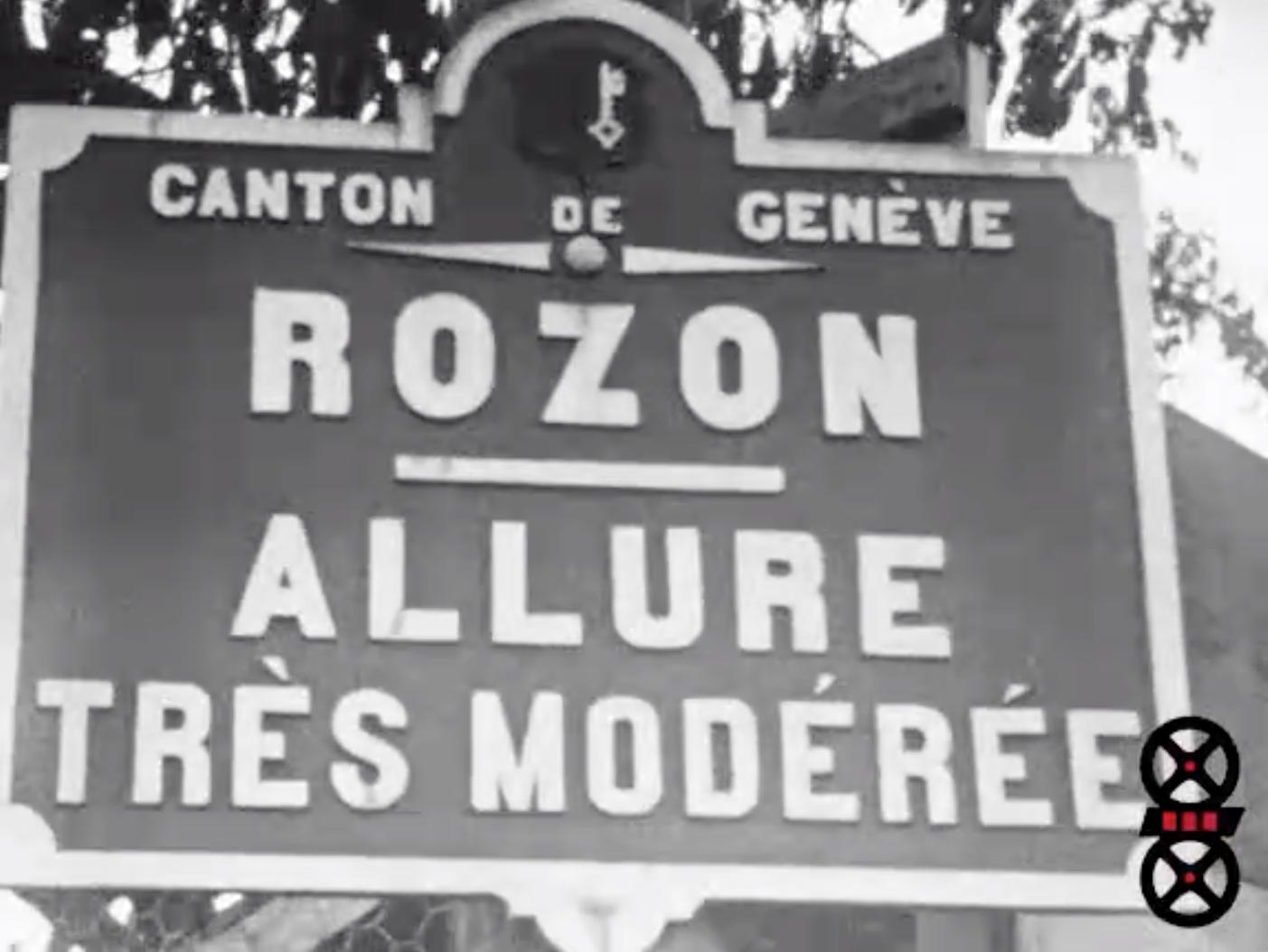 Rozon et Genève, vues et portraits