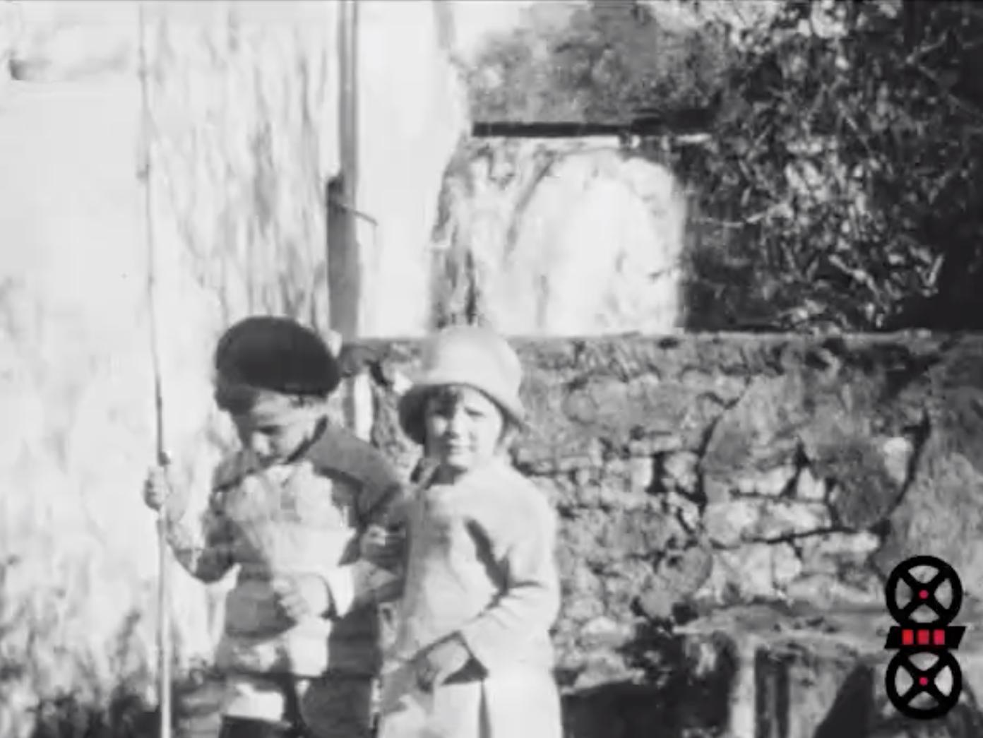 Claude et Malou avec Ilse - Claude à la pêche