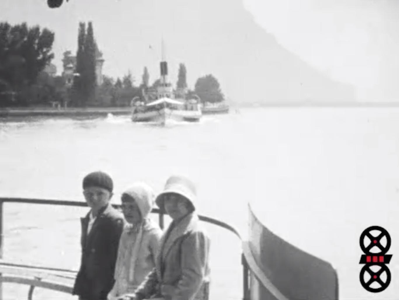 En bateau sur le lac Léman