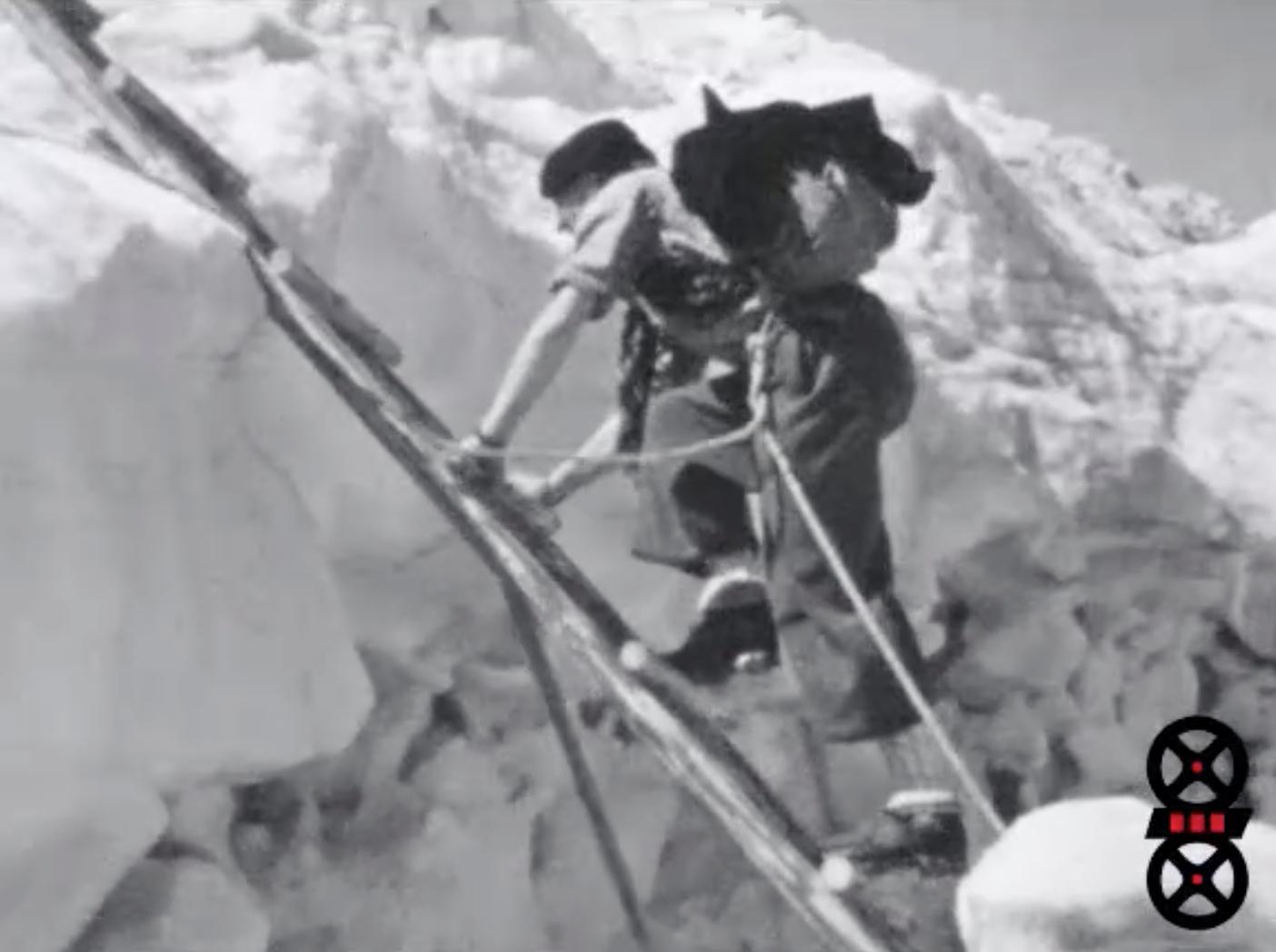 Vacances 1938 - Première partie - Chamonix