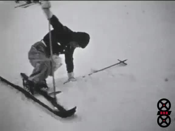 Sport d'hiver - 1938 les Rousses puis 1939 Super Bagnere