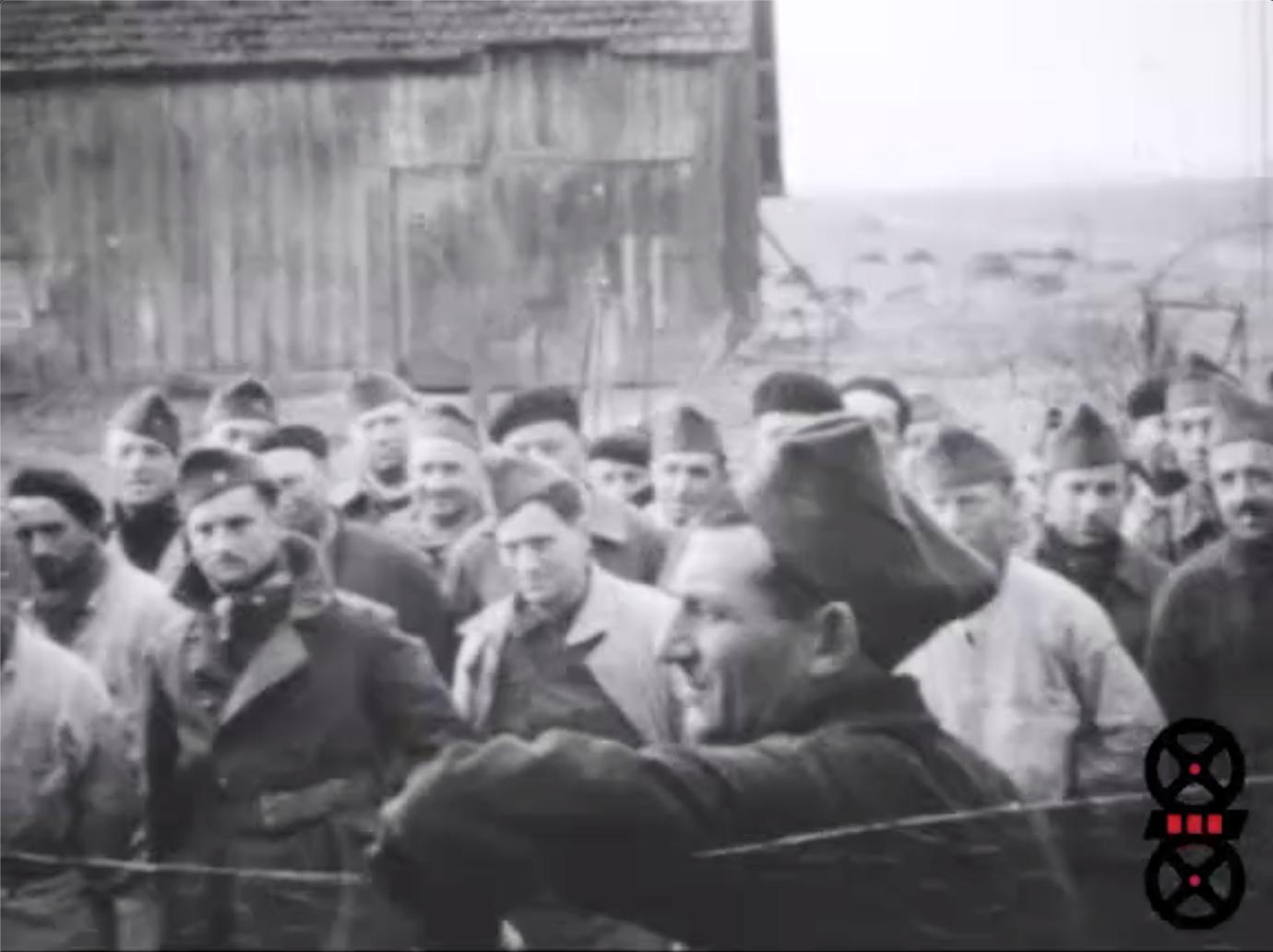 Noël 1938 - Drôle de guerre - Départ exode