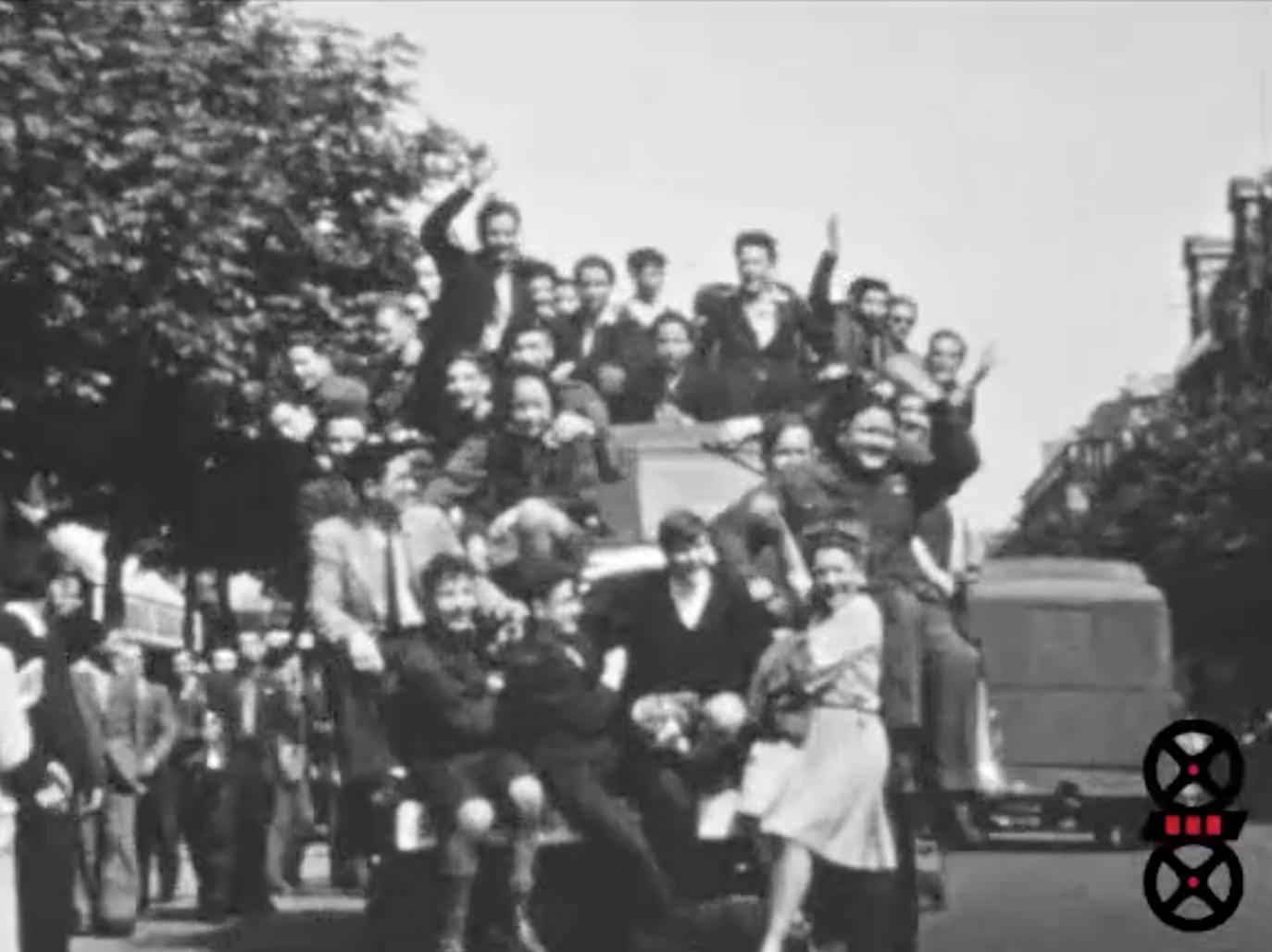 Evénements 1944 - 1945 - La Libération