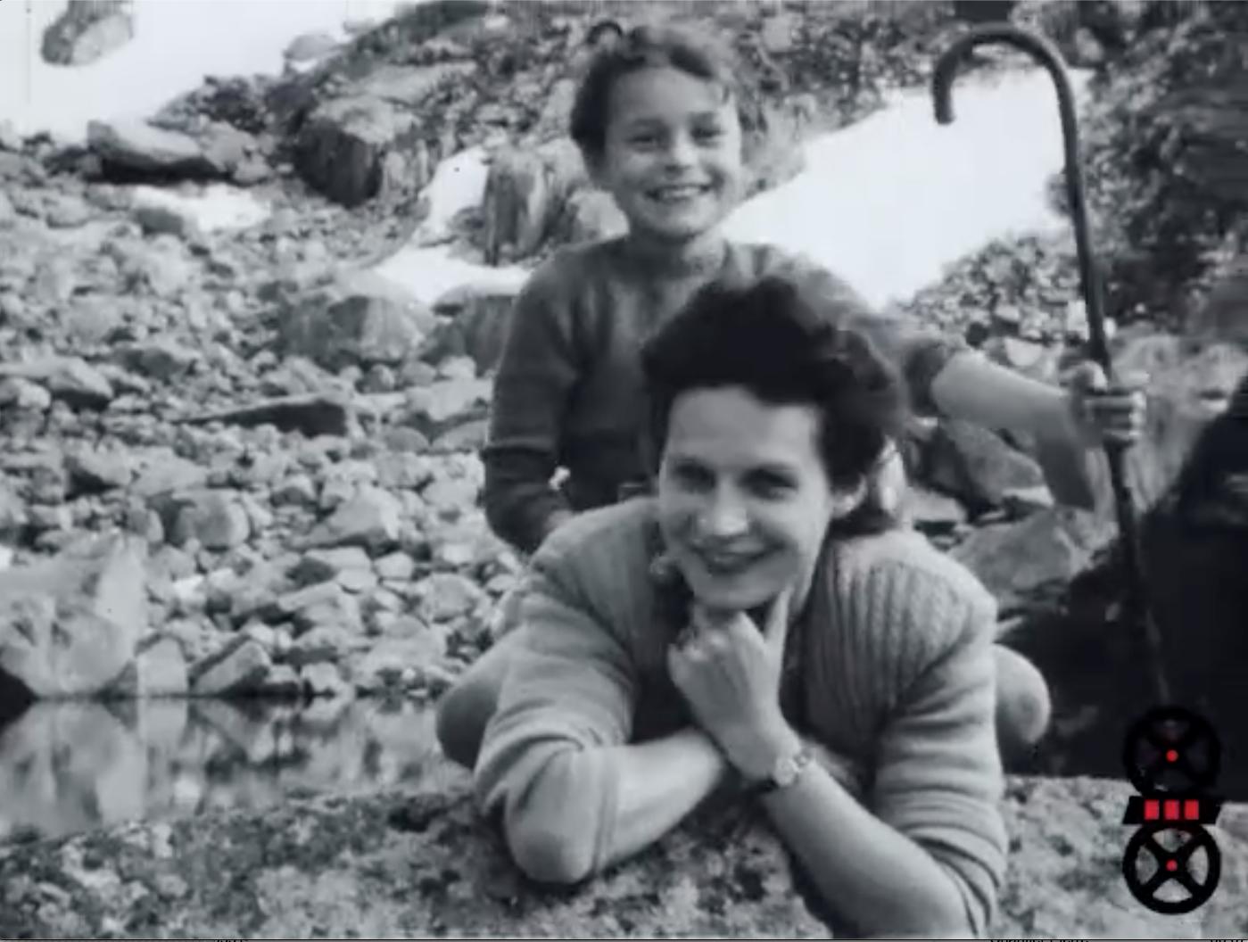 Chamonix - Marie-Claude et Colette