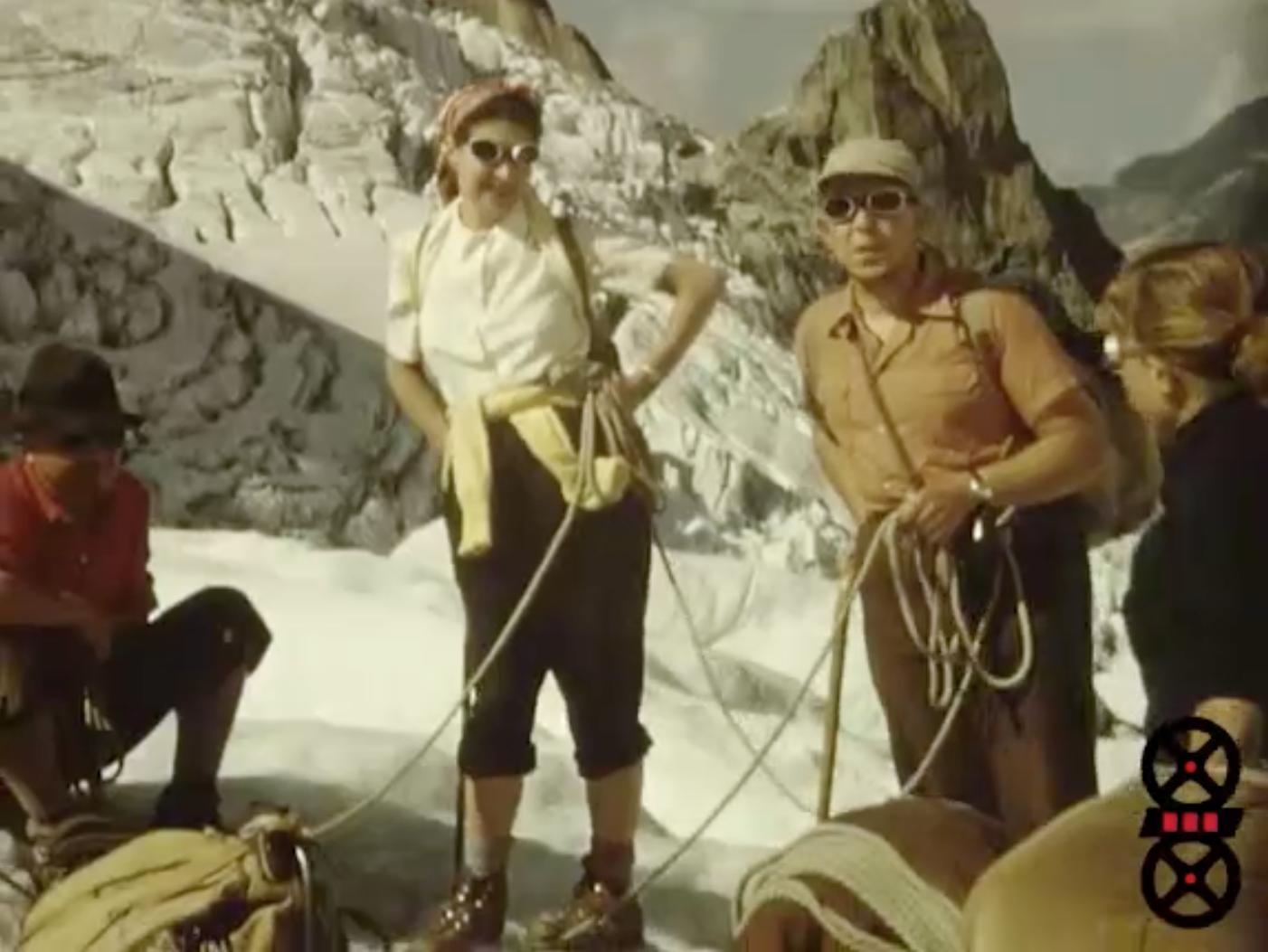 Vacances à Chamonix 1953