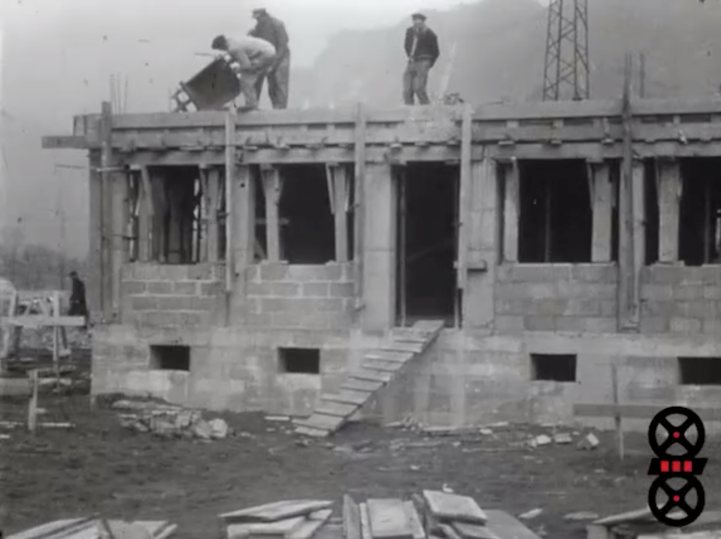 Construction de l'usine d'Hermillon