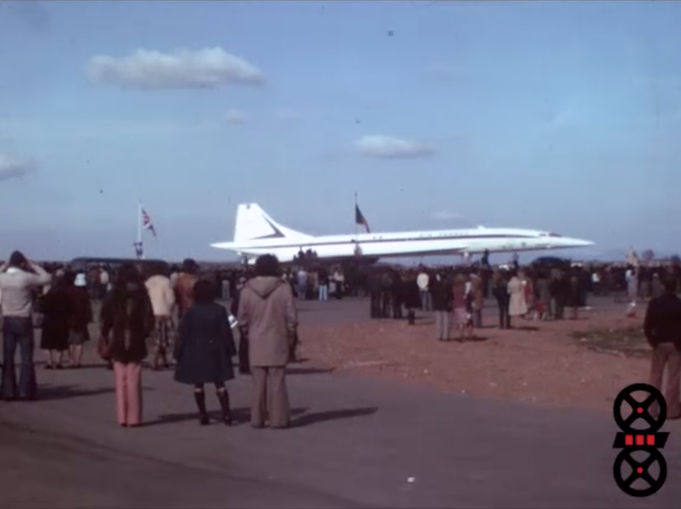 Inauguration de Satolas - Présentation du Concorde