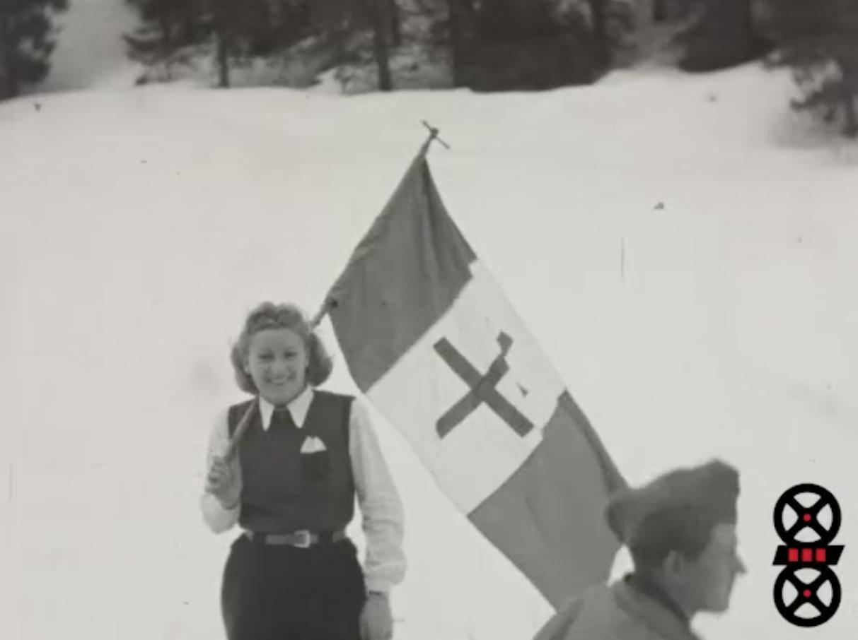 Montée anniversaire Glières 1946