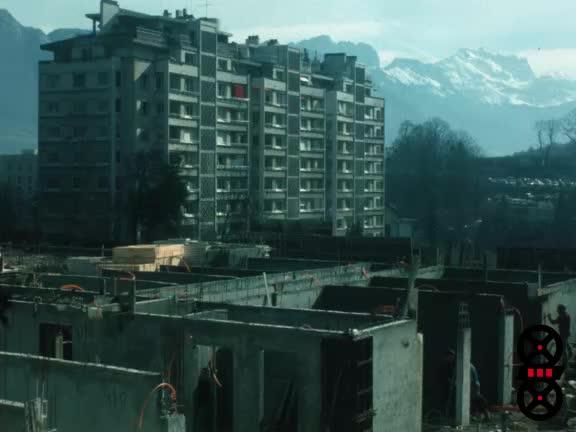 Annecy en transformation urbaine dans les années 1970